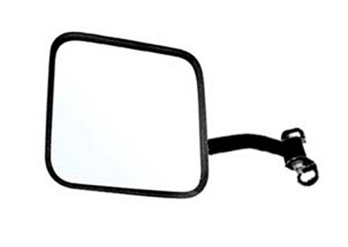 CIPA 44701 Jeep CJ OE Style Black Manual Replacement Passenger Side Mirror (Cipa Manual)