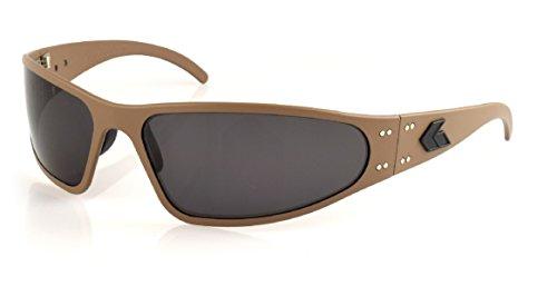 Gatorz - Wraptor Aluminum Frame Sunglasses (Cerakote Military Tan, Smoked - Sunglasses Gatorz Magnum