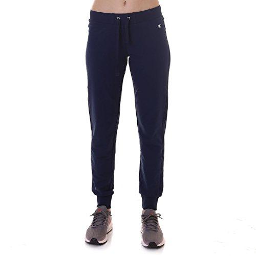 Blu Donna Sportivi Cuff Pants Rib Bleu Bs503 Pantaloni bli Champion pCTw1qZ