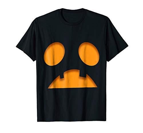 (Jack O Lantern Halloween Sad Pumpkin Face)