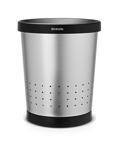 Brabantia 364341 Conical Paper Bin- 11 Liter Matte Steel- Pack of ()