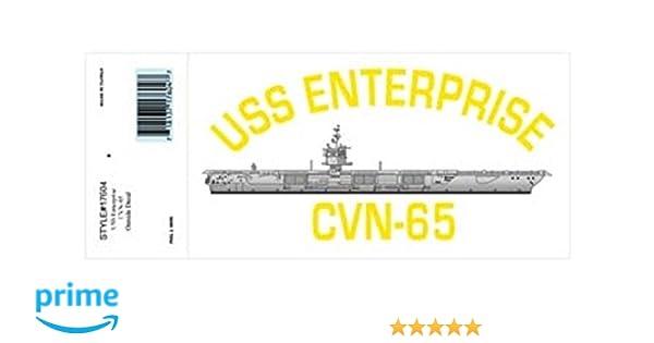 "Decal USS Enterprise CVAN-65 Veteran 3.8/"" Sticker"