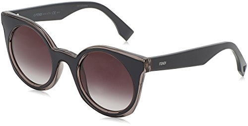 Gris Sonnenbrille Blue Sf Grey Dark FF Fendi 0196 S Grey wOBxqF7x6