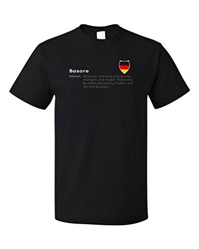 """Basore"" Definition | Funny German Last Name Unisex T-shirt"