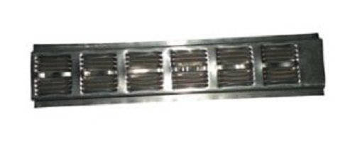 Air Vent Continuous Soffit Vent 2'' X 8' 9 Sq. In. Of Net Free Area Aluminum