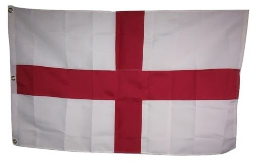 Moon 3x5 Embroidered St. George Georges England Cross 600D 2