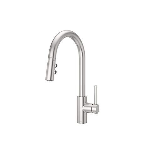 (Pfister LG529SAS Stellen 1-Handle Pull Down Kitchen Faucet, Stainless Steel)