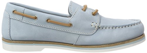 Tamaris sky 23616 Bleu Mocassins Nubuc Femme loafers T4qTw1