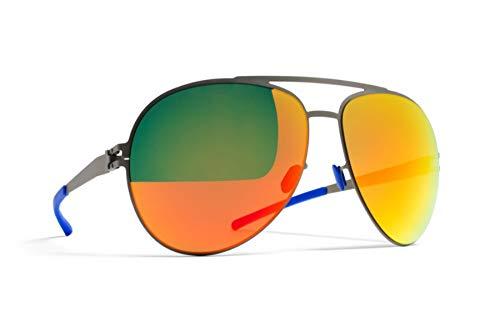 Mykita - Gafas de sol (hechas a mano), color gris: Amazon.es ...