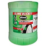 Slime (SLMSB-5G) Slime Tube Sealant, 5 Gallon Container, for All Tires with Tubes, Non-Toxic, Single Unit
