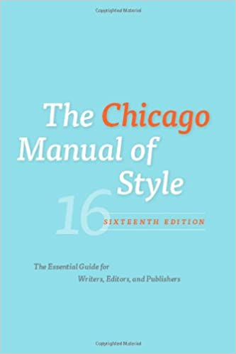 Chicago manual of style phd thesis
