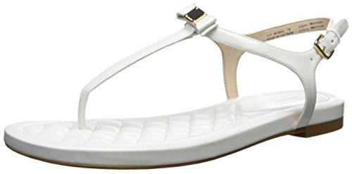 Cole Haan Womens Tali Mini Bow Sandal Optic White hwUB6
