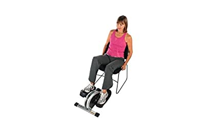 Elliptical Exercise Equipment, Fitness Equipment Elliptical-Compact And Lightweight Enough To Use At Home Or At The Office, Color White