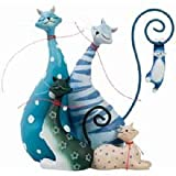 The Cat Pack Cats Figurine by Westland Giftware