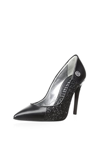 Bomba De Dedo Puntiagudo Para Mujer Galliano Donna Glitter, Negro, 41 M Eu / 9.5 M Us