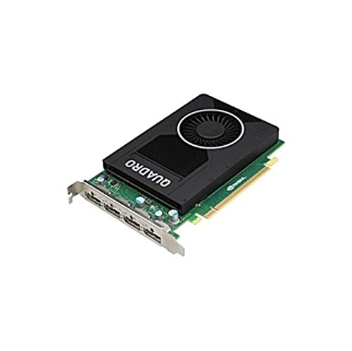 PNY Quadro M2000 Graphic Card - 4 GB GDDR5 - Single Slot Space Required - 128 bit Bus Width - Fan Cooler - OpenGL 4.5, OpenCL, DirectX 12, DirectCompute 5.0 - 4 x (Certified Refurbished)
