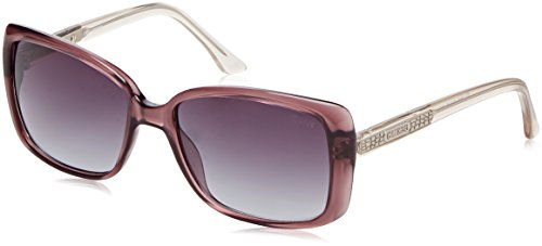 GUESS Eyewear Rectangle Sunglasses - Sunglasses Purple Guess