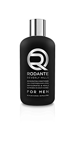 Price comparison product image New! Premium Brand Rodante Beverly Hills Sulfate Free Natural Invigorating 2 in 1 Conditioner & Shave Lotion, for Color Treated Hair Mask , w/ Mint & Tea Tree Oils No Sulfates for Men 8.5 Oz