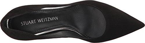Stuart Weitzman Women's Curvia Pump Black Suede latest online huge surprise buy cheap eastbay amazon online C7EoUpJK
