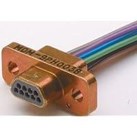 Micro D Sub Connector, 21 Contacts, Plug, MDM Series, Crimp / Solder, Cable Mount
