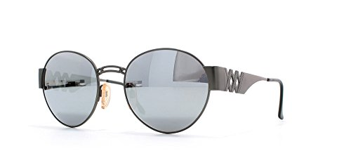 Ysl 6037 276-22 Grey Certified Vintage Round Sunglasses For Mens and - Sunglasses Ysl Men