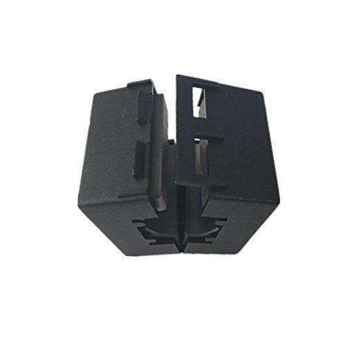 Maslin Wholesale UF130B Inner 13mm 0.51''Ultra Strong Noise Cancel ferrite core Clip RF Choke ferrite Bead EMI Filter ferrite,30pcs/lot