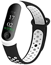Xiaomi Mi Band 4 & Band 3 replacement strap dual color (Black and White)