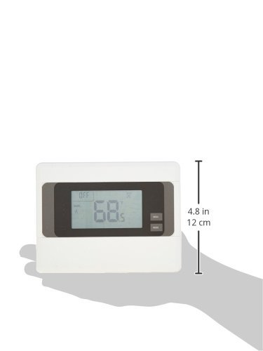 2gig CT100 Z-Wave Programmable Thermostat (White)