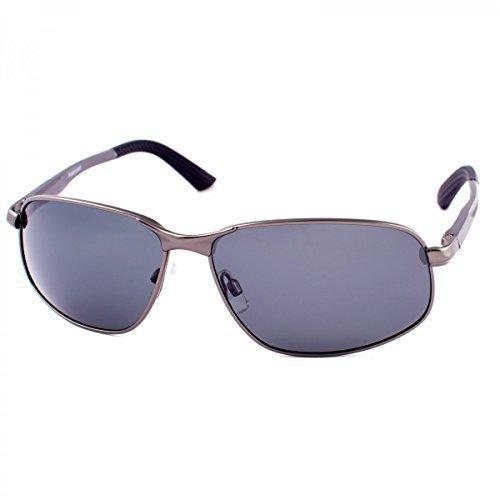 Hombre aluminio Gafas de sol Polaris ierend Piloto Matrix ...