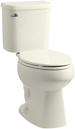 Sterling Windham ADA Luxury Height 1.28 GPF Toilet with Pro Force Technology, Biscuit by Sterling (Image #1)