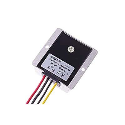 SMAKN Waterproof DC/DC Converter 12V (10-30V) Step UP to 48V/4A 192W Power Supply Module: Home Audio & Theater