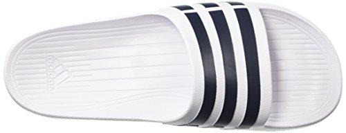 White adidas Collegiate Slide White Navy Mixte Duramo Adulte z1R8z0q
