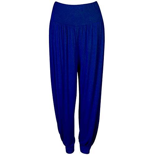 Blue Royal Harem Pantaloni Donna Blessfashions Aqx7ZSIw