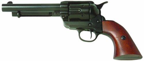 Denix Old West Frontier Replica Revolver Non Firing Gun, Black by Denix