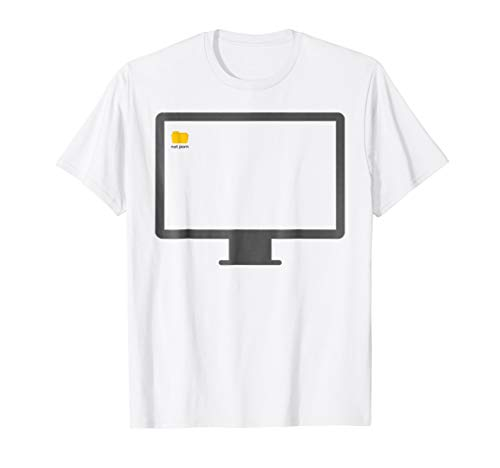 Price comparison product image Not Porn Folder T-Shirt Porn T Shirt Pc Desktop T Shirt Pc