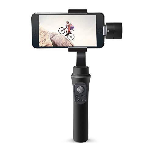 Osaka 3-Axis Handheld Mobile Gimbal Stabilizer Gimble 360° Rotation Inception Mode Stunning Motion Time-Lapse Stabilizer…