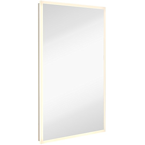Amazon.com: Global Frameless Mirror with Lights | Lighted