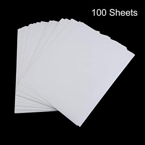 Wenwenzui-ES 100 PCS A4 Sublimación Papel de impresión Poliéster Algodón Camiseta Hierro Sobre Papel de Transferencia: Amazon.es: Hogar