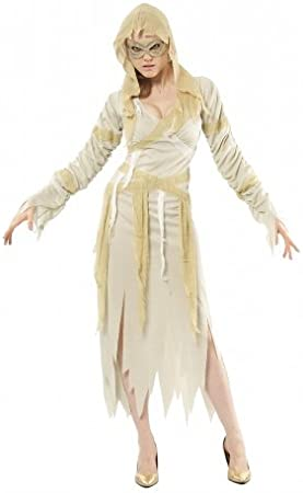 Desconocido Disfraz de momia para mujer ideal para Halloween ...