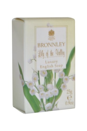 Bronnley Lily of the Valley Luxury English Soap 25g by Lily Of the Valley (Luxury Valley Soap)