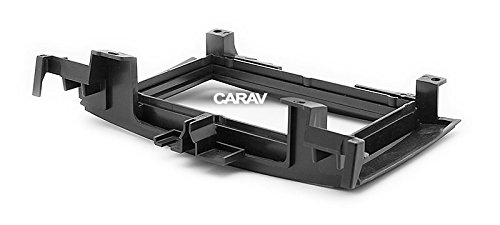 Carav 11-714 Car Stereo Radio installation frame Double Din in Dash Facia Fascia Kit for VOLKSWAGEN Crafter 2006+ / MERCEDES-BENZ Sprinter (W906) 2006+ with 17398mm/178100mm/178102mm