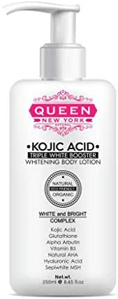 Kojic Acid TRIPLE WHITE BOOSTER Whitening Body Lotion-Natural Whitening-Moisturizing your skin naturally into healthier balance&Radiant glow-Reduce Wrinkles-Acne Scars & Dark Spot (1 Bottle)