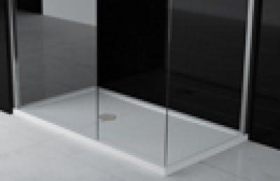 Plato ducha de acrílico rectangular 140 x 80 cm). – Grosor 4,5 cm ...
