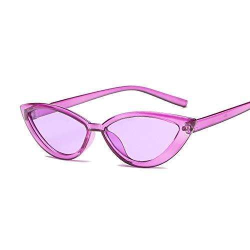 - Sexy Ladies Sunglasses Women Fashion Plastic Sun Glasses Female Classic Retro Cat Eye Outdoor,Purple