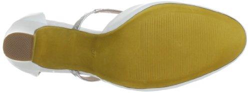 Giudecca Lapinig JYS1310 - Zapatos de pulsera de cuero para mujer Beige (Beige (Beige))
