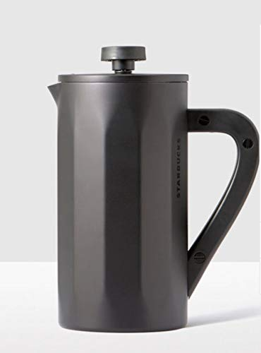 Starbucks Stainless Steel Coffee Press with Soft Touch Handle – Matte Black, 8-cup … Review