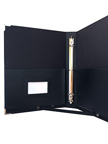 MSP Sheet Music Concert Choral Folder 10'' x 13.5'' with Hand Strap and 3 Ring Binder LARGE (Black) by MSP Portfolio (Image #7)