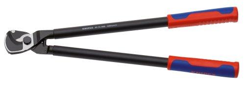 KNIPEX 95 12 500 Kabelschere mit Mehrkomponenten-Hüllen 500 mm