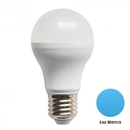 Batuled - [5 Pack] 5 Bombillas LED E27 10W potencia y consumo, equivalente a 100W, esféricas redondas ...