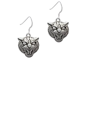 Large Wildcat - Mascot - French Earrings